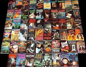 JE RECHERCHE: Livres Collection Frisson