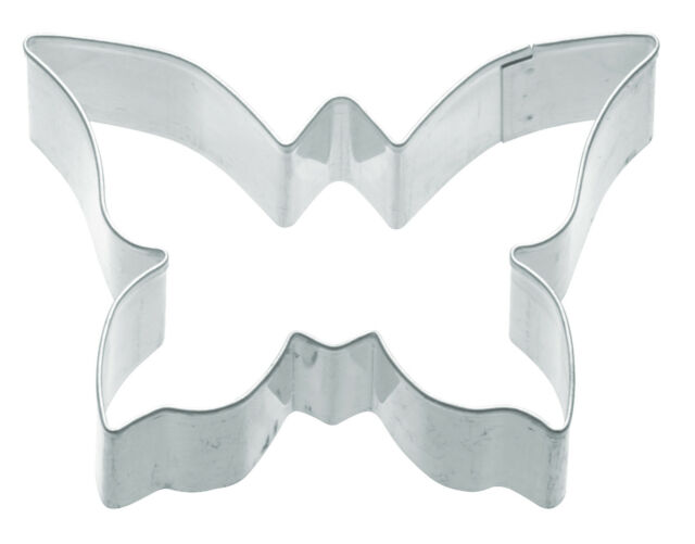 Kitchen Craft Butterfly Shape 7.5cm Biscuit, Pastry, Cookie Cutter