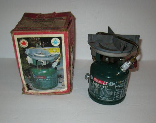 "1987 COLEMAN #505B ""EASI-LITE"" STOVE & BOX  FREE SHIPPING"