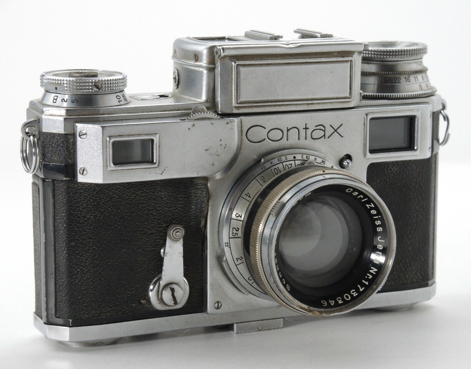 CONTAX III 544/24 RANGEFINDER CAMERA SALVAGE FOR PARTS / REPAIR ONLY  - $99.99