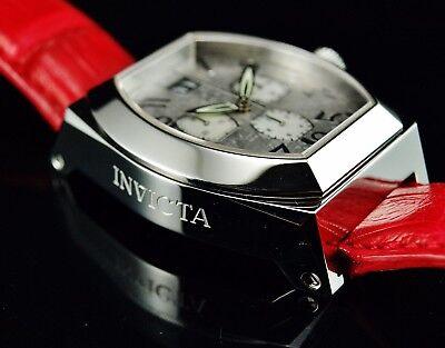 Invicta Men's Acero Gibeon Meteorite MOP Dial Genuine Crocodile Leather Watch
