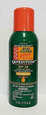 Avon SSS bug Guard plus IR3535 Expedition Spf 28 Aerosal Spray