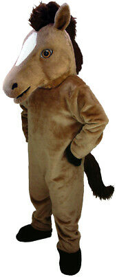Mustang Horse Professional Quality Lightweight Mascot Costume Adult Size