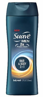 Suave Men Body Wash Hair + Body Wash 12 oz