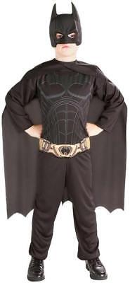 ht Kinder Karneval Fasching Kostüm 128-140 (Kind Batman-kostüm)