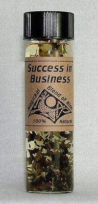 Success in Business - Magickal Blend of Nine Magical Purpose Oil - Magickal Oil Blend