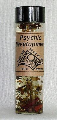 Psychic Development - Magickal Blend of Nine Magical Purpose Oil - Magickal Oil Blend