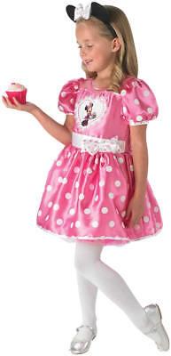 Minnie Mouse Pink Cupcake Kinder Karneval Fasching Kostüm 104-128