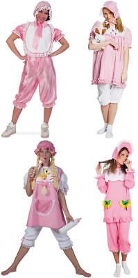 Baby Doll rosa Pyjama Junggesellenabschied Karneval Fasching Kostüm 34-50