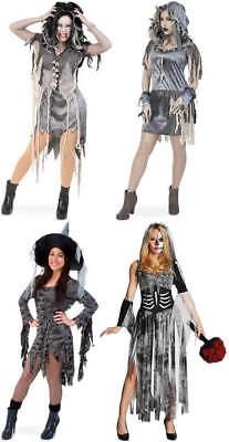 Zombie Horror Halloween Karneval Fasching Kostüm (Zombie Kleid)