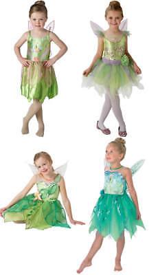 ll Disney Fairy Fee Kinder Karneval Fasching Kostüm 104-128 (Tinkerbell Kostüm Kinder)