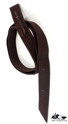 (Tie Strap Cinch Extra Heavy Duty Thick Nylon Brown New Free Shipping)