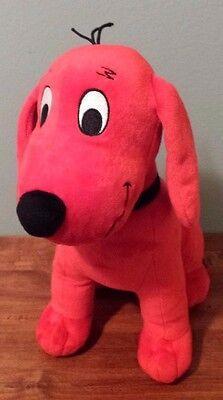Clifford the Big Red Dog Stuffed Animal Toy Kohls Cares Plush 2011 EUC