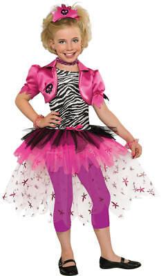 Pink Punk Princess Girl Punkgirl Punker Pop Star Karneval Kostüm - Punk Star Kostüm