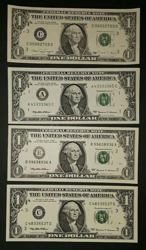 1999 $1 D.set w/E* serial #