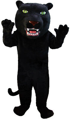 Black Panther Professional Quality Lightweight Mascot Costume Adult - Panther Mascot