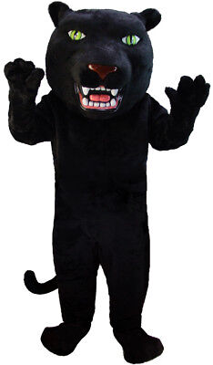 Black Panther Professional Quality Lightweight Mascot Costume Adult Size - Panther Mascot Costume