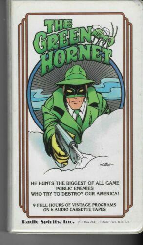 OTR- The Green Hornet-Six Cassettes 18 Episodes