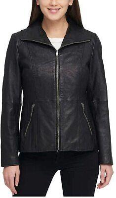 Andrew Marc New York Ladies' Leather Jacket Black Size XL - 9547 Marc New York Black Jacket