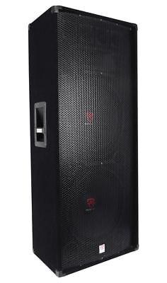 "Rockville RSG15.28 Dual 15"" 3000 Watt 3-Way 8-Ohm Passive DJ/Pro PA Speaker"