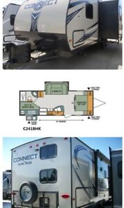 24ft connect travel trailer