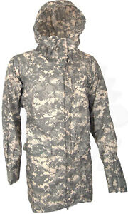 NEW Wet Weather Improved Rain suit Parka X-Large Digial Camo ACU Army USGI