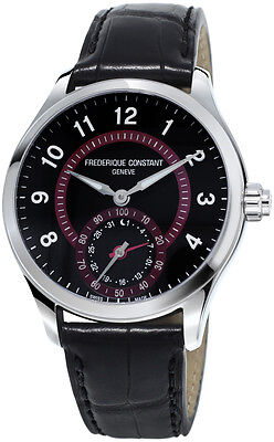 Frederique Constant Horological Smartwatch Steel Mens Strap Watch FC-285BBR5B6