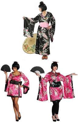 ono Karneval Fasching Kostüm 34-52 (Geisha Kimono Kostüm)
