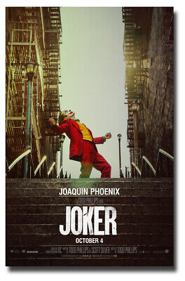 Joker Movie Poster - 11x17 inches 2019 Joaquin Phoenix  SameDay Ship from USA