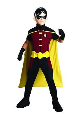 New Boys Young Justice Robin Costume Boys Large 12 14