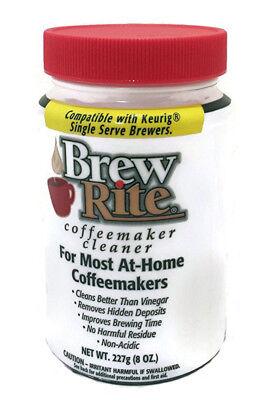 Brew Rite Coffee Maker Cleaner for Espresso Machines and Dri