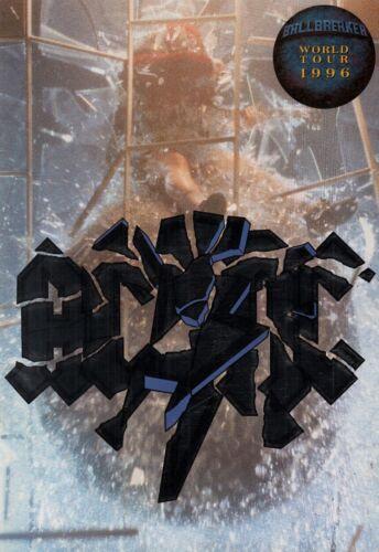 AC/DC 1996 BALLBREAKER WORLD TOUR PROGRAM BOOK / ANGUS YOUNG / BRIAN JOHNSON /