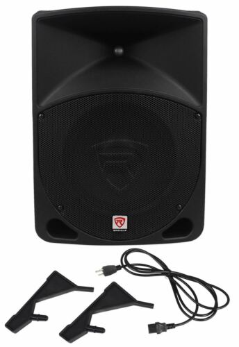 "Rockville RPG10 10"" Powered Active 600 Watt 2-Way DJ PA Spea"