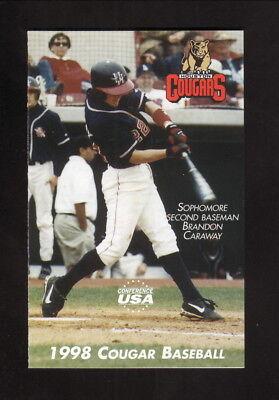 Houston Cougars--1998 Baseball Pocket Schedule (Houston Cougars Baseball)