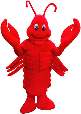 Lobster Professional Quality Mascot Costume Adult Size](Lobster Costumes)