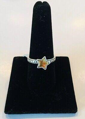 Brighton STAR STRUCK Gold Star Ring Size 9 NWT J61351