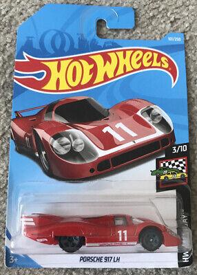 HOT WHEELS 2019 101/250 PORSCHE 917 LH Red version NEW ON CARD