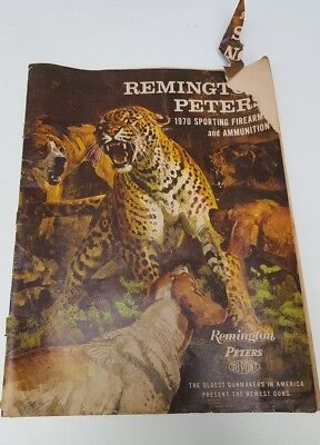 1970 REMINGTON PETERS SPORTING FIREARMS & AMMUNITION CATALOG