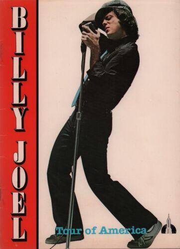 BILLY JOEL 1980 TOUR OF AMERICA 12-CITY CONCERT PROGRAM BOOK BOOKLET / NM 2 MINT