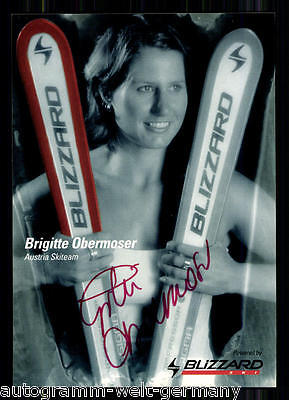 Brigitte Obermoser TOP AK Original Signiert +A14190 + A 65572