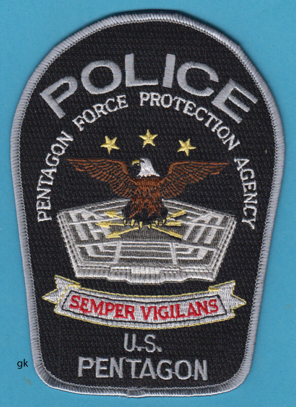 US PENTAGON PROTECTION  POLICE WASINGTON DC SHOULDER PATCH