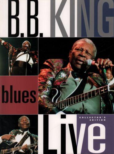 B.B. KING 2001 LIVE: KING OF THE BLUES TOUR CONCERT PROGRAM BOOK / NMT 2 MINT