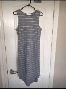 DISSH Striped Midi Dress (Size 10)