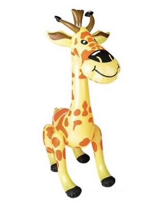 Blow Up Animals (Giraffe 36'' Inflatable Blow Up Prop Jungle Animal Child Play)