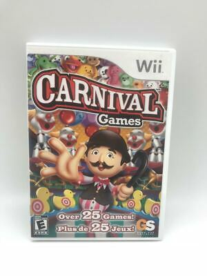 Nintendo Wii Video Game: Carnival Games I Everyone
