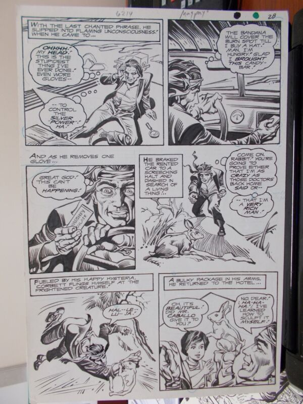 Joel Magpayo. Unknown page. ( DC.1981 )