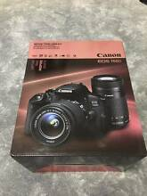 Brand New Canon EOS 700D Twin Lens Kit Digital SLR Camera Stretton Brisbane South West Preview