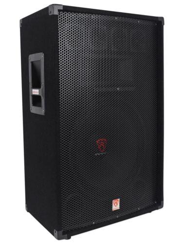 "Rockville RSG15 15"" 3-Way 1500 Watt 8-Ohm Passive DJ/Pro Audio PA Speaker"