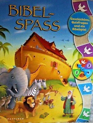 Bibelspaß Geschichten, Quizfragen und ein Bibelspiel Tracy Harrast / Kinderbibel (Bibel-spiel Kinder)
