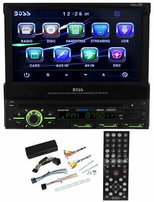 "Boss BV9979B 7"" In-Dash Single Din Car DVD Player Receiver w/Bluetooth, USB, SD"